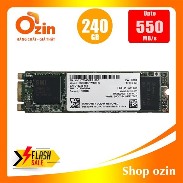 Bảng giá Ổ cứng SSD intel 240GB 180GB M.2 SATA 540S(New version) Phong Vũ