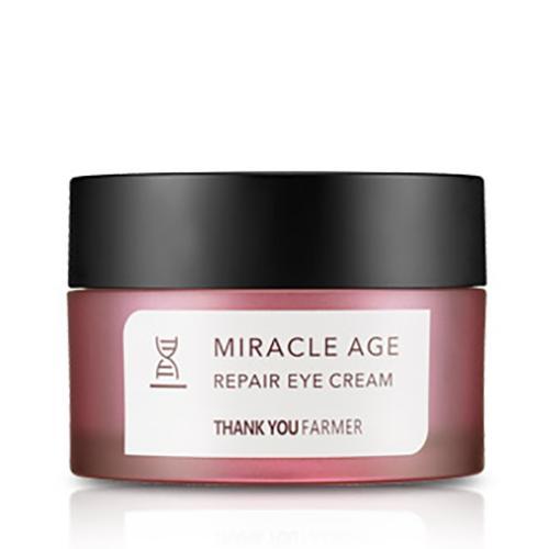 Kem dưỡng da vùng mắt chống lão hoá Thank You Farmer Miracle Age Repair Eye Cream 20g nhập khẩu