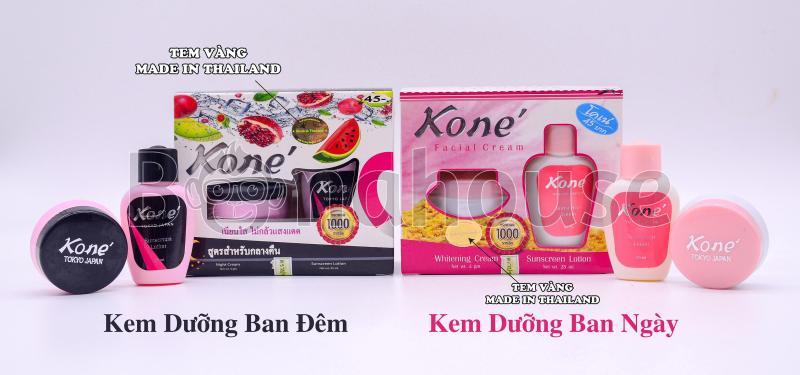 01 Hộp Kem Dưỡng Trắng Da Chống Nắng Kone Facial Cream Thái Lan