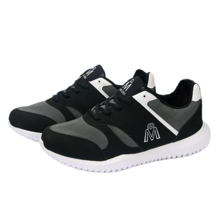Giày thể thao nam Muidoi G119 (Full đen) giày nam đẹp giày nam đế độn siêu nhẹ giá rẻ