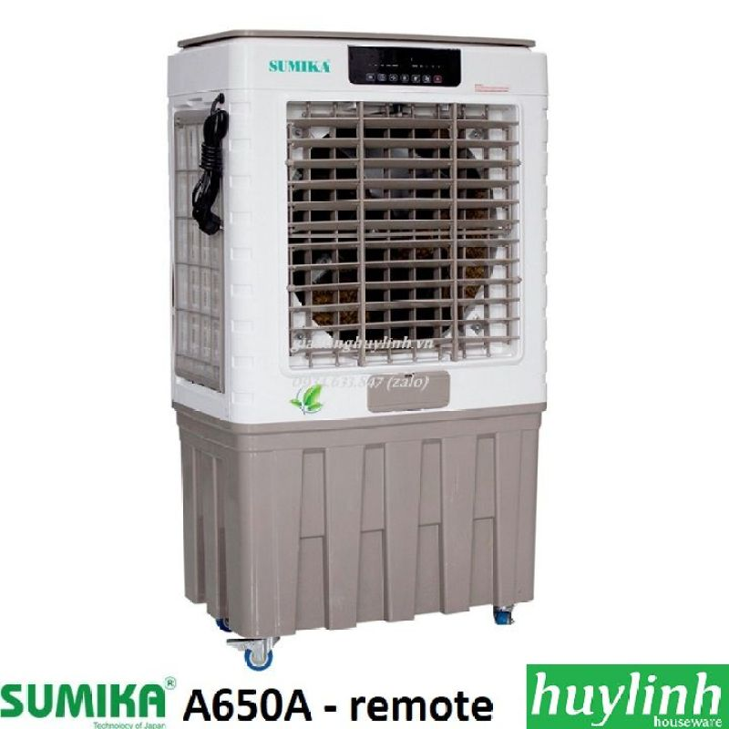 Máy làm mát không khí Sumika A650A - 60m2 - có remote - Model 2020