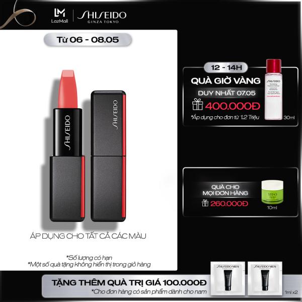 Son lì Shiseido ModernMatte Powder Lipstick 4g cao cấp