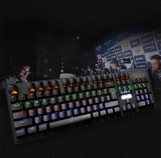 Sản phẩm KB Bosston MK 912 Phím Cơ Led RGB Chuyên GAME Bàn phím cơ chuyên game Blue Switch Bosston MK912 Bàn phím Bosston MK 912 Phím Cơ Led RGB Chuyên Game Bàn phím cơ Bosston MK912A LED RGB KB BOSSTON MK912 PHÍM CƠ LED RGB GAME USB thumbnail