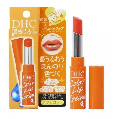 Son Dưỡng Môi Màu Cam DHC Pure Color Lip Cream Stick 1.5g làm môi hồng quyến rũ - TinaVu Store