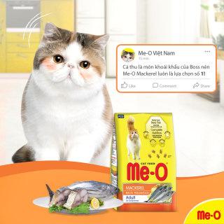 [HCM]Gói chiết lẻ Thức ăn mèo vị cá ngừ cá thu hải sản MeO Me-O Tuna Sea food Mackerel 1kg thumbnail