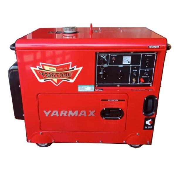 Máy Phát Điện Chạy Dầu 5Kw Yarmax 6700E