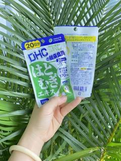 Viên uống trắng da DHC Coix 20 ngày Nhật Bản, có vitamin E làm đẹp da, sáng da, da mịn màng thumbnail