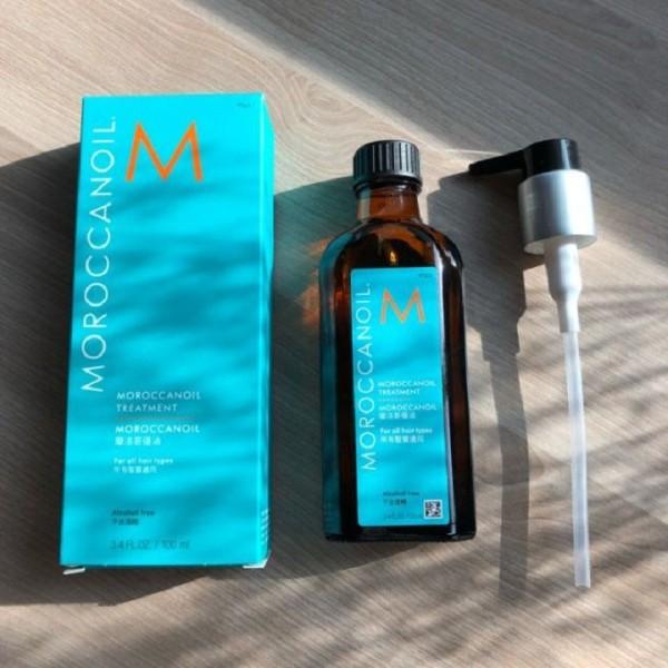 Tinh Dầu Dưỡng Tóc Moroccanoil Treatment 100ml đẩy nhanh thời gian làm khô tóc và làm tăng độ óng ả cho tóc   Cung cấp đủ dưỡng chất