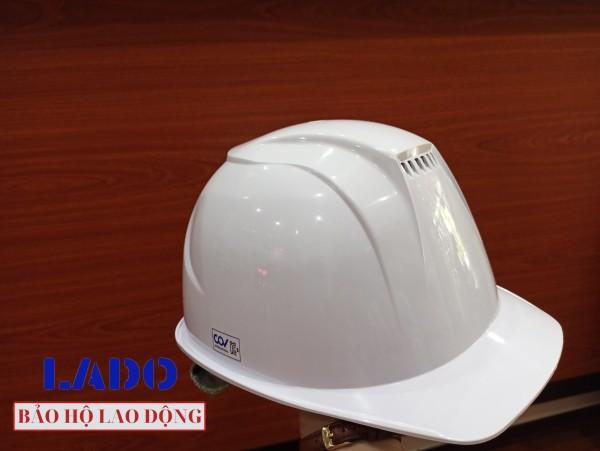Nón bảo hộ thoáng khí Hàn Quốc màu trắng - COV H-A001