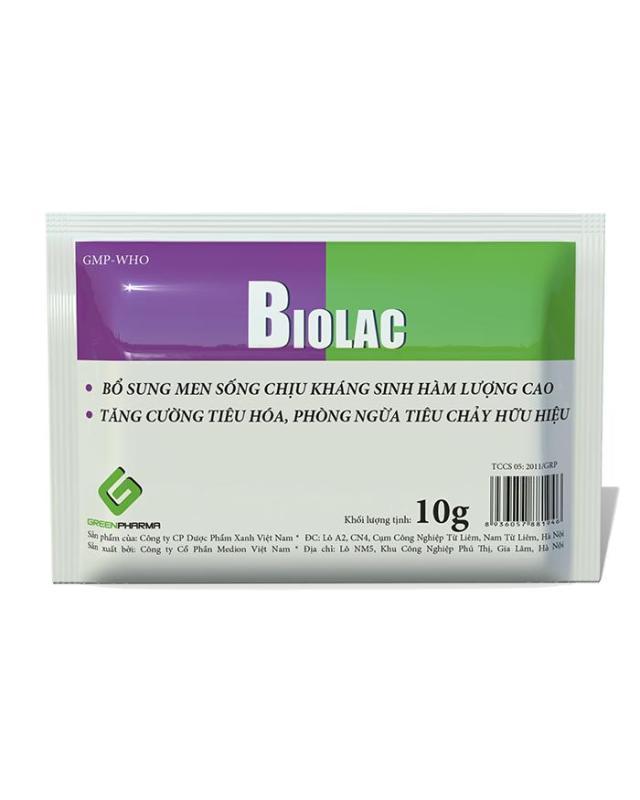 HCM-SP1527 - (một gói 10gr) men tiêu hoá Biolac dùng cho chó mèo biếng ăn-HP10949TC