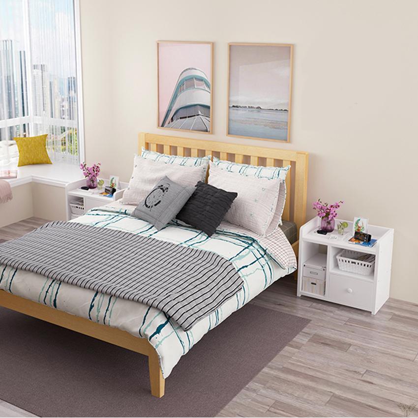 tủ, táp đầu giường có ngăn kéo - 4