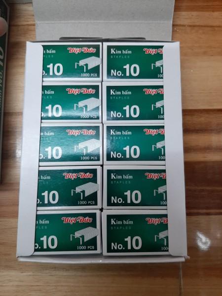 Mua Combo 20 Hộp Kim Bấm No.10 Việt Đức
