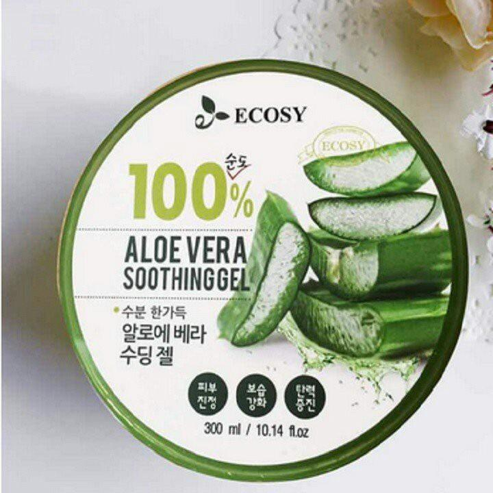 Gel Nha Đam Ecosy 100% Aloe Vera Soothing Gel nhập khẩu