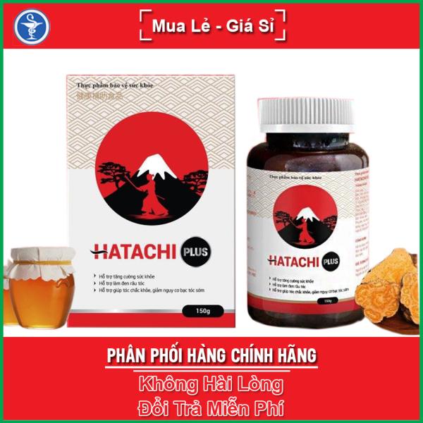 Viên uống Hatachi Plus hỗ trợ tăng cường sức khỏe, bổ máu, làm đen râu tóc, giúp tóc chắc khỏe, giảm nguy cơ tóc bạc sớm, yespharmacy