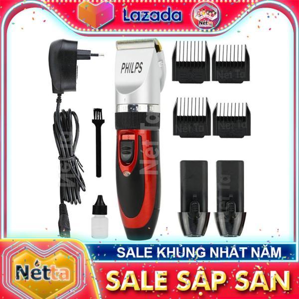 Tông đơ cắt tóc không dây theo 1 pin thay thế sử dụng cho salon và gia đình kèm theo 1 pin thay thế PHILPS 928 giá rẻ