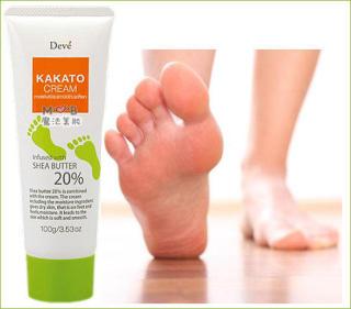 Kem dưỡng da chân tinh chất bơ hạt mỡ Deve Kakato Cream 100g thumbnail