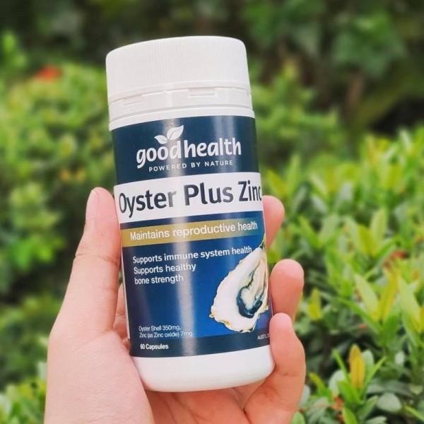 Tinh chất hàu Oyster plus Zinc - Tăng cường sinh lực nam - 60 viên