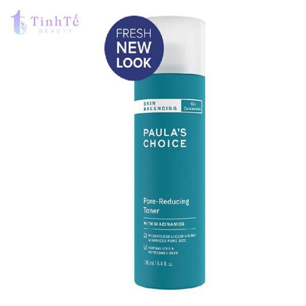 Nước hoa hồng cân bằng và điều chỉnh lỗ chân lông Paulas Choice Skin Balancing Pore Reducing Toner 190ml