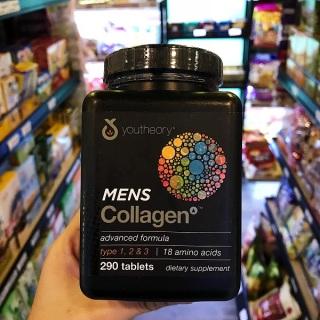 Viên uống bổ sung Collagen Youtheory Men s 290 viên dành cho nam giới - Mỹ thumbnail