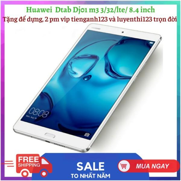 [Trả góp 0%]Máy tính bảng Huawei Dtab D01J (HUAWEI M3) (8.4 inch 2K) nghe gọi - Cấu hình khủng ram 3G || Full 4G+Wifi  chiến PUBG/Liên Quân/Free Fire mượt đủ cáp sạc tặng 2 phần mềm vip tienganh123 và luyenthi123 học online cực tốt