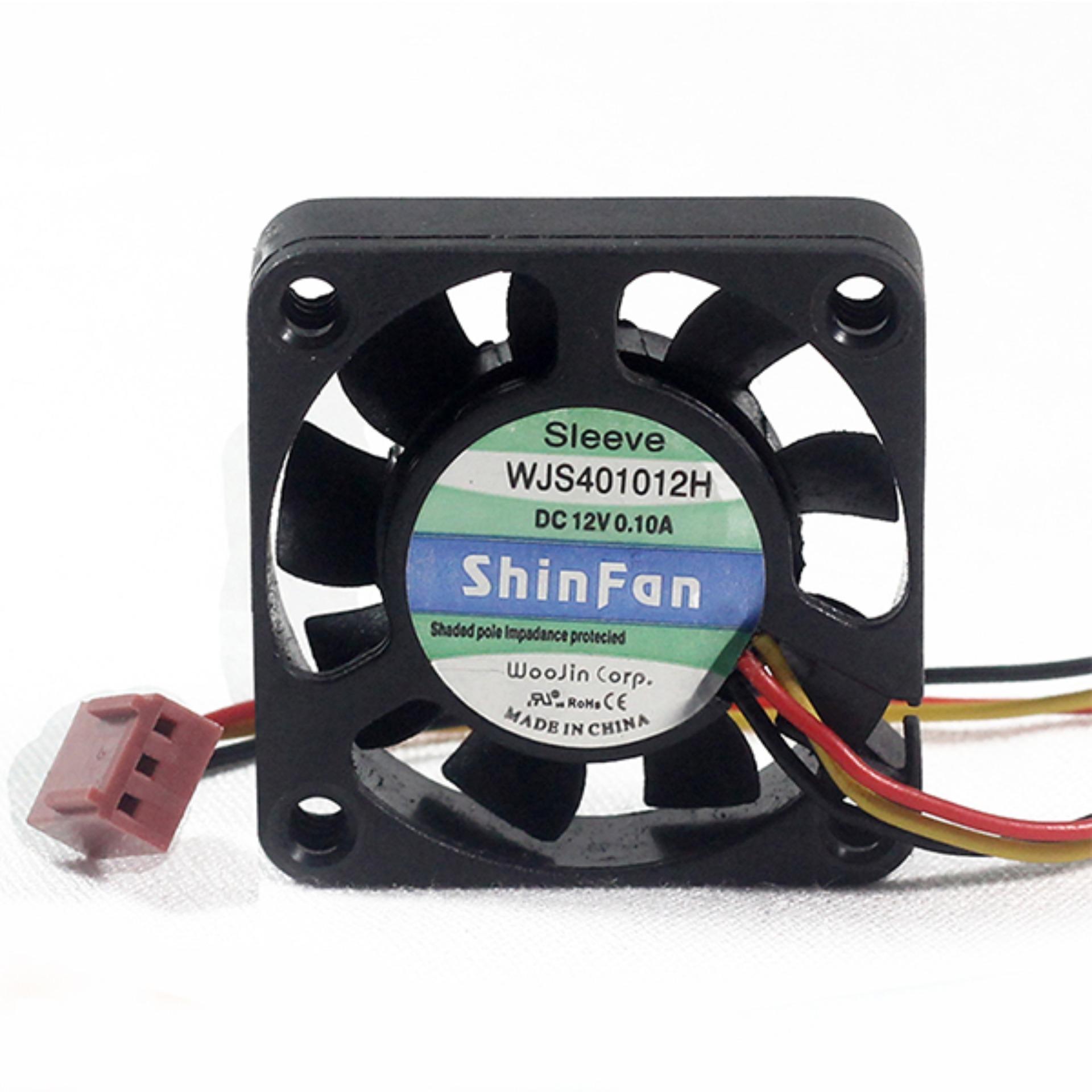 Giá 1 Chiếc Quạt Tản Nhiệt Điều Chỉnh Tốc Độ Shinfan 4x4x1cm 12V WJS401012H