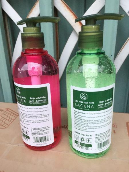 Gel rửa tay khô LAGENA 300ml diệt khuẩn nhập khẩu