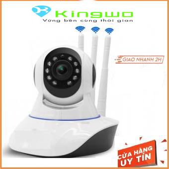 Camera wifi yoosee 3 râu Ful HD- 1080P - 2.0MP xoay 360 Thế hệ mới hình ảnh sắc nét 2.0mp ,10 đèn hồng ngoại