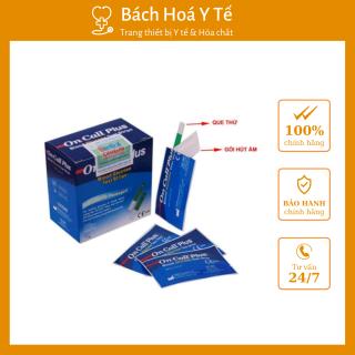[BHYT] Que Thử Đường Huyết On Call Plus Hộp 25 Que - Hỗ trợ kiểm tra đường huyết nhanh và chính xác cho người tiểu đường thumbnail