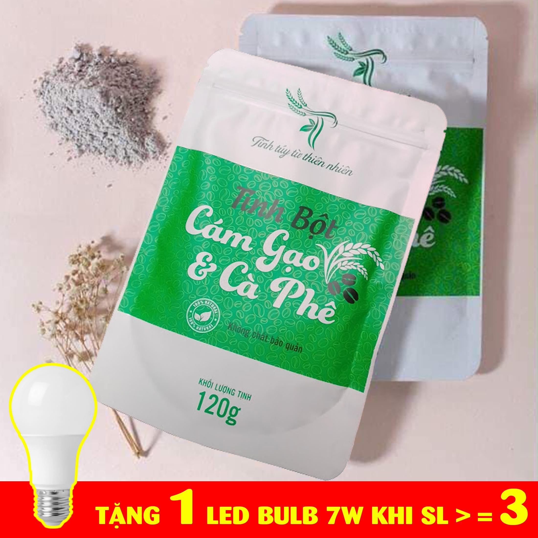 Tinh bột cám gạo cà phê