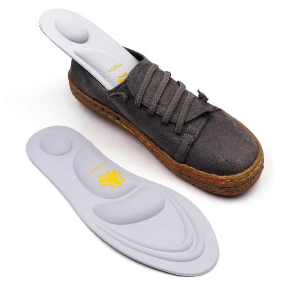 Lót giày thể thao 4D thiết kế vòm giảm áp lực bàn chân giúp đi bộ lâu hơn - buybox - BBPK36