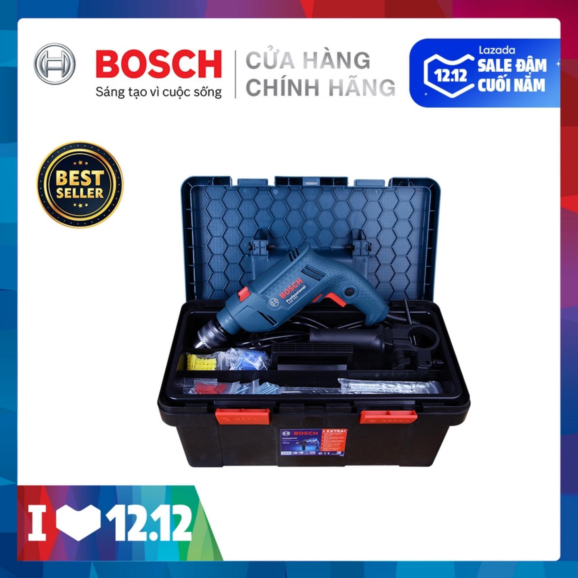 Bộ Máy Khoan động Lực Bosch GSB 550 FREEDOM 90 Chi Tiết Giá Giảm