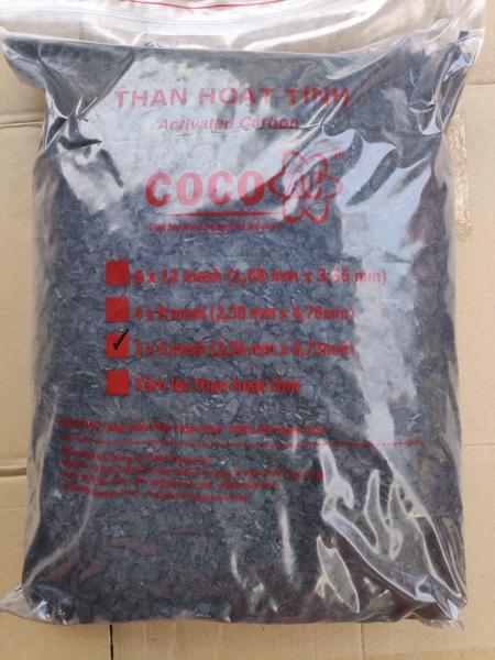 Túi than hoạt tính lọc khí hạt 03x06 mesh