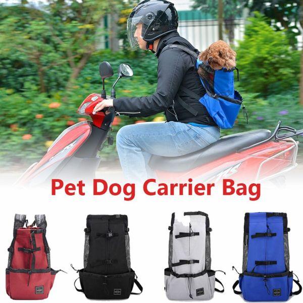 ZEEBR Ngoài trời Lưới thép Retriever Túi đeo vai Con chó lớn Chó xệ Balo Túi vận chuyển chó Túi xách cho thú cưng Đồ dùng cho thú cưng