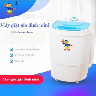 Máy giặt mini cao cấp Máy giặt vắt quần áo gia dụng mini Giá rẻ đặc biệt phù hợp dành cho học sinh sinh viên thumbnail