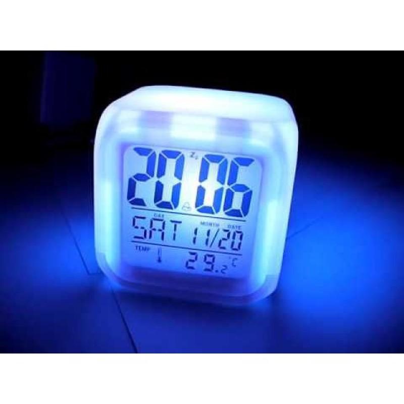 Giá bán Đồng hồ báo thức để bàn in hình THIÊN QUAN TỨ PHÚC ATTACK ON TITAN AMONG US CONAN anime chibi