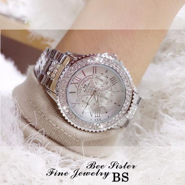 Đồng hồ nữ BS Bee Sister FA1131 đính đá thời trang