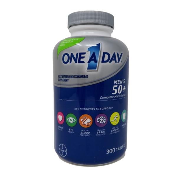 Thực phẩm bổ sung Vitamin của Mỹ - ONE A DAY MEN 50+ Healthy Advantage 300 viên cao cấp