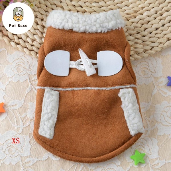Winter Warm Pet Dog Cat Clothes Windproof Coat Puppy Motorcycle Vest Dogs Jacket Costume Clothing Pets Supplies