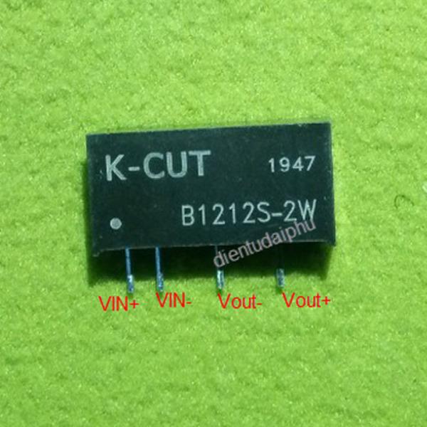 Bảng giá [HCM]Cách ly nguồn cho Bluetooth EVISUN1212 / K-CUT1212 DC-DC 12-5Vdc 2W