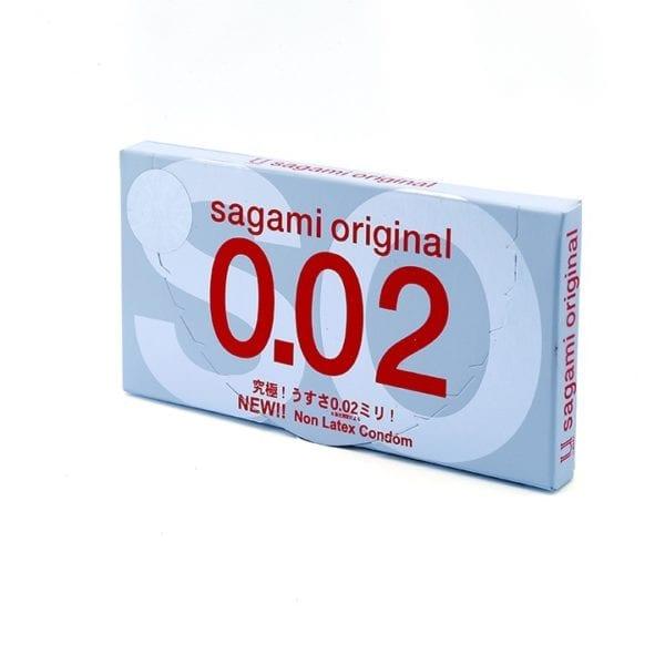 Bao cao su Sagami Original 0.02 SIÊU MỎNG cao cấp