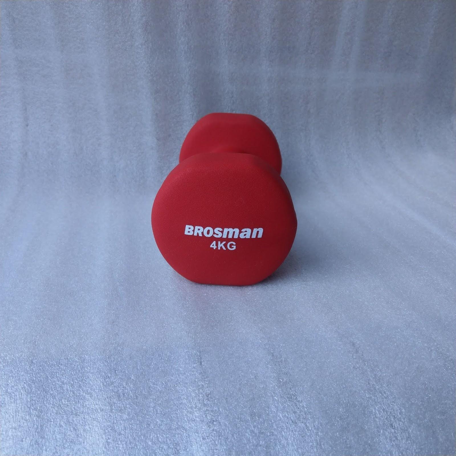 Tạ Tay Brosman 4 Kg (Đỏ) Giá Rẻ Nhất Thị Trường