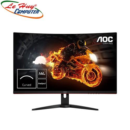Màn Hình Máy Tính Cong Aoc C24G1 23.6 Inch Fhd 144Hz Gaming