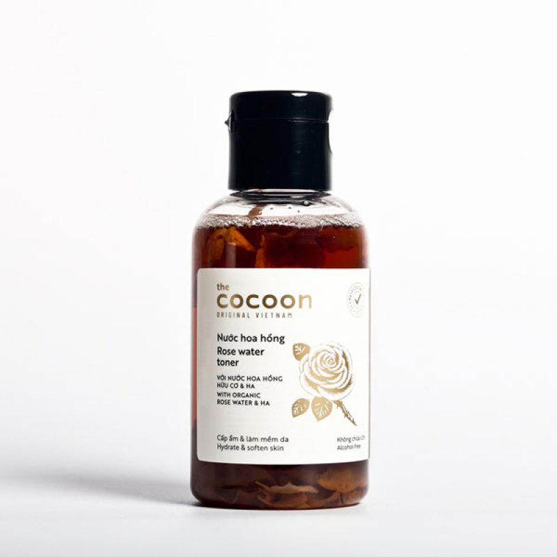 Nước hoa hồng cocoon 140ml cấp ẩm dưỡng da ngăn ngừa nếp nhăn giá rẻ