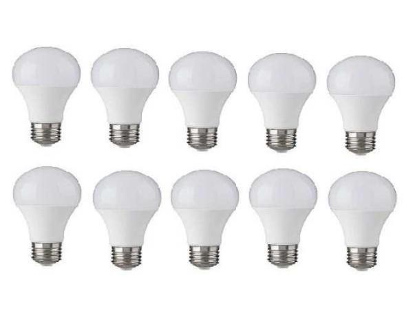 Bộ 10 bóng đèn LED BULB Trụ 12W siêu sáng - A60