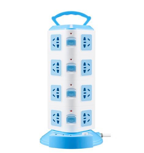 Ổ Điện Đa Năng 4Tầng 16 ổ cắm 3 Cổng USB, Dây 1,5m