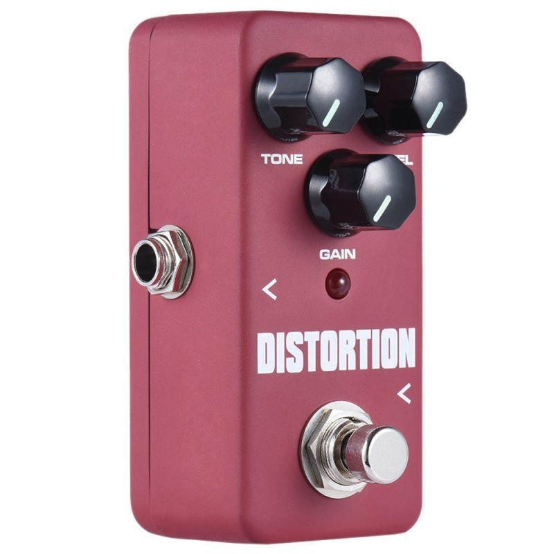 1 Pcs Distortion Effects Pedal Electronic Guitar Single Pedal FDS-2 Aluminium - intl