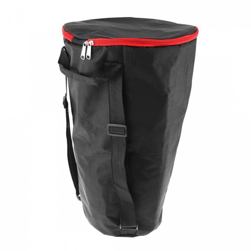 1pc Black 10 Inch Thick Shockproof Waterproof Tambourine Shoulders Djembe Bag Case