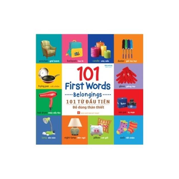 Mua Sách: 101 Từ Đầu Tiên - Đồ Dùng Thân Thiết