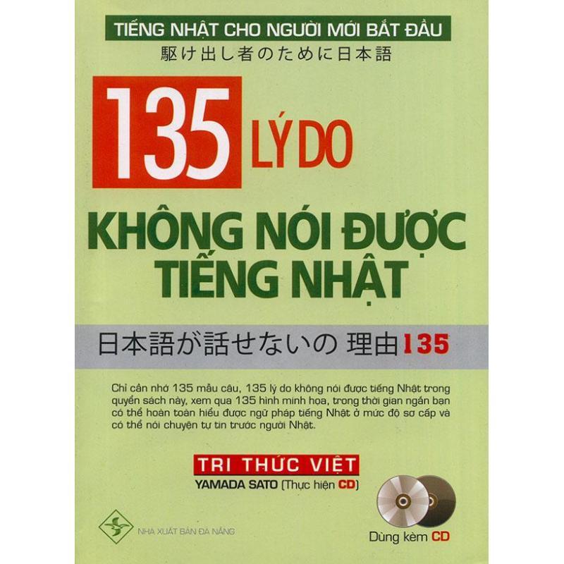 Mua 135 lý do không nói được tiếng Nhật (kèm CD)
