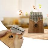 17 Key Mbira Kalimba Thumb Piano Solid Finger Piano Mahogany Body Intl Mới Nhất